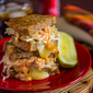 Turkey Reuben with No-Knead Rye Bread