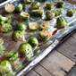 Roasted Brussels Sprouts with Balsamic & Orange
