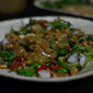 The Vibrant: Garden Eggs with Crushed Peanuts, Red Chilies & Cilantro