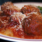 Wok's For Dinner: Spaghetti Squash & Meatballs