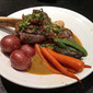Lamb Shanks with Vegetables and a Mint Gremolata