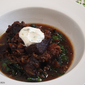 Stovetop Braised Beef Short Rib Recipe with Sautéed Swiss Chard