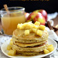 Apple Cider Pancakes with Maple Cider Syrupy