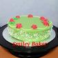Pandan Kaya Layered Cake