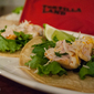 Tortilla Land Seafood Tacos with Cod and Blackberry Chipotle Dressing