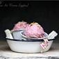 Frozen| Plum Ice cream {eggless} … digital doodling for Pinktober