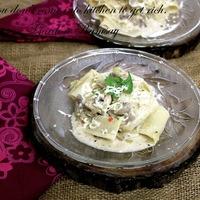 Gordon Ramsay Style Mushroom and Leek Pasta