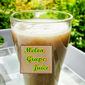Melon Grape Juice in Vitamix
