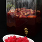 Sparkling Blood Orange and Pomegranate Halloween Punch