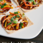 Mini Asian Vegetable Pizzas #PepperParty