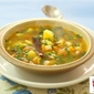 Coriander Tomato and Potato Soup