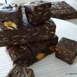 1-2-3 Chocolate Almond FUDGE