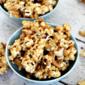 Peanut Butter Cashew Popcorn