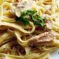 Creamy Tuna Carbonara Supreme