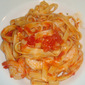Quick and Tasty Prawn and Tomato Pasta - Pantry and Fridge Dish