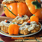 Pumpkin Cookies w/Maple-Vanilla Buttercream Frosting