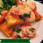 """Roasted Shrimp & """"Fried"""" Polenta"""