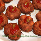 Meatloaf Cupcake Appetizers
