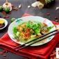 Mushroom Yee Mee Soup
