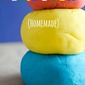 Easy DIY Homemade Playdough