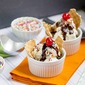 Waffle Cone Sundaes with Edy's Ice Cream