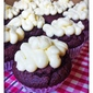 Chocolate and Beetroot Cupcakes with Cream Cheese Frosting