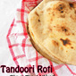 Tandoori Roti On Stove Top