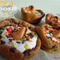 Filled Cookie Cups with Mo's Cookie Dough