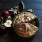 Apple-Toffee Pie