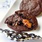 Caramel Stuffed Salted Caramel Cookies