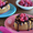 Chocolate Ganache-Topped Mini Cheesecakes