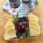 Blueberry Freezer Jam with Rosemary and Shiraz