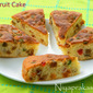 Easy Fruit Cake (no added caramel sugar, alcohol and golden syrup)