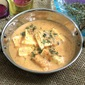 Punjabi Malai Paneer - Cottage Cheese in White Gravy