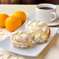 Lemon Cream Cheese Crackle Cookies