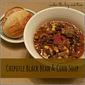 Chipotle Black Bean & Corn Soup