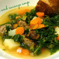 Eating the Seasons: Kale and Sausage Soup