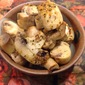 Lemon Roasted Mushrooms with herbs