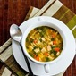 Recipe for Slow Cooker Lemony Turkey (or chicken) Soup with Spinach and Orzo