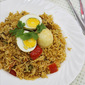egg biryani recipe - how to make easy egg biryani