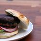 Pork and Portobello Burgers