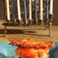 Potato latke burger sliders for Hanukkah