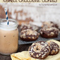 Toffee Streusel Chocolate Donuts