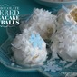 Frozen-Inspired White Chocolate Covered Banana Cake Snowballs