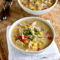 Light Turkey (or Chicken) & Corn Chowder Recipe