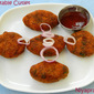Vegetable Cutlet (with bread slices)