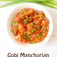 Gobi Manchurian / How to make Cauliflower Manchurian