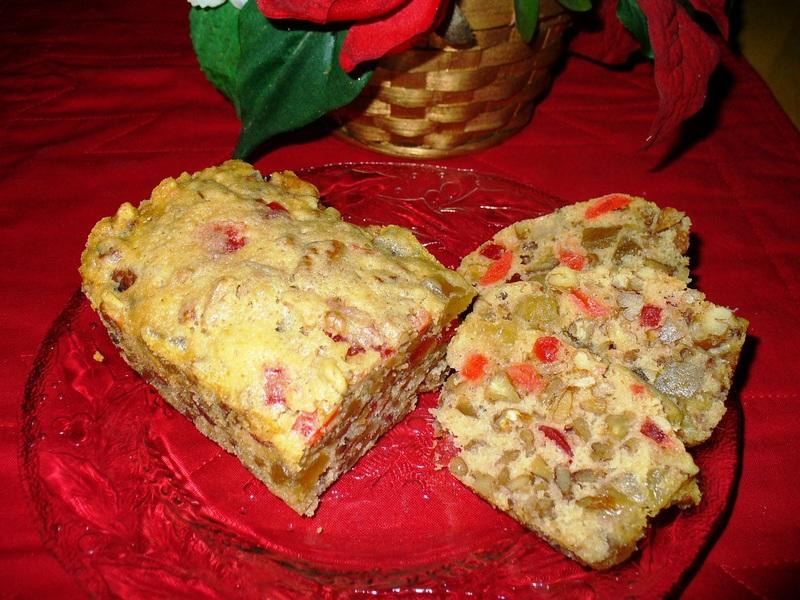 Mrs. Harvey's White Fruitcake