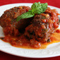 Pass the Proscuitto: Braciole di Manza (Filled Italian Beef Rolls in Tomato Sauce)