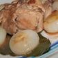Coniglio con cipolline borettane, alloro e peperoncino cayenna